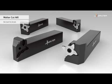 Walter CUT MX grooving insert and G3011/G3021 monoblock tool