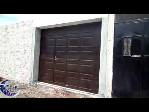 Download youtube to mp3 porton seccional de garaje con for Portones de garaje