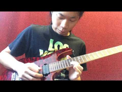 Paul Gilbert - Curse of the Castle Dragon solo cover