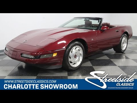 1993 Chevrolet Corvette (CC-1318393) for sale in Concord, North Carolina