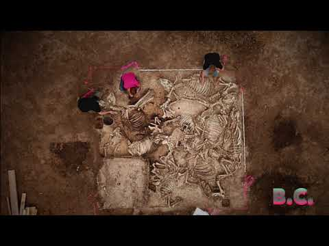 Found 1,500 Year Old Tomb of a Germanic Lord With a Circle of Six Women