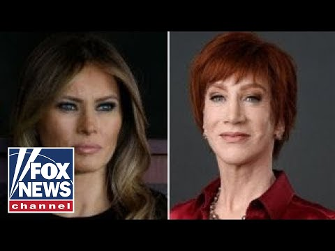 Kathy Griffin to the 'Melanie' Trump: 'F--- you'