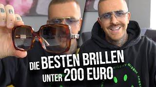 Die besten Brillen unter 200 € | Gucci, Versace, Kaleos uvm...