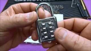 (532) Chinese Push Button Lock from Tjita1
