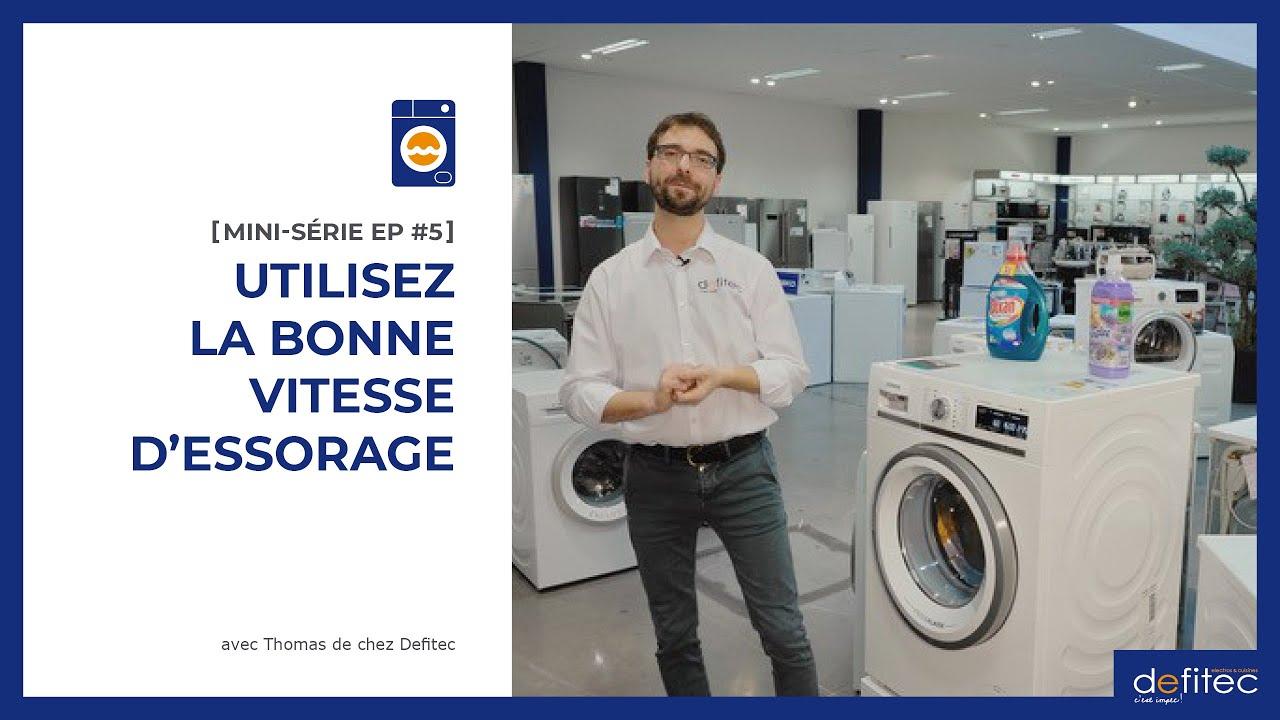 Lave-linge - Mode d'emploi | MINI-SÉRIE EP#5 : L'essorage