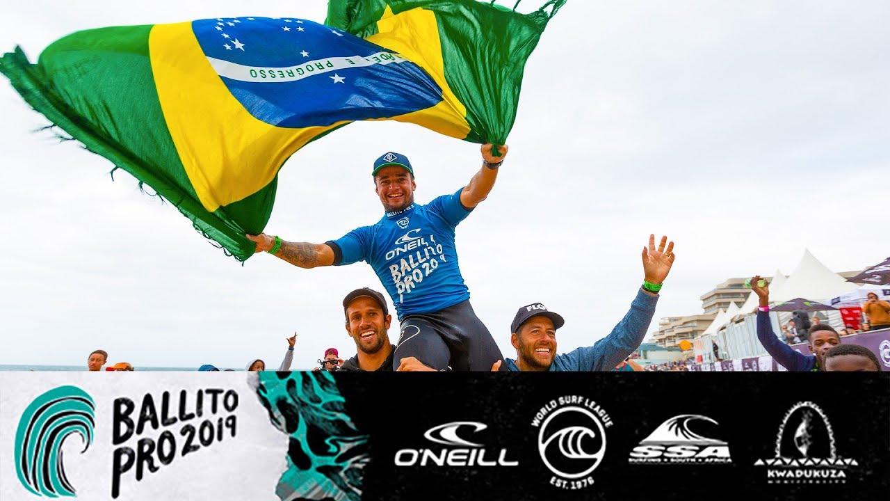 Deivid Silva Reins Supreme in Ballito Pro pres by O Neill Final