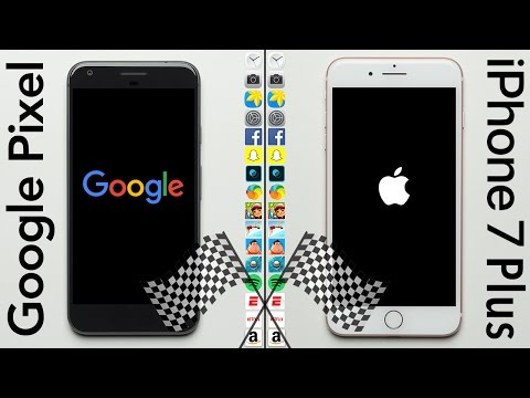 Google Pixel XL vs Apple iPhone 7 Plus : le comparatif