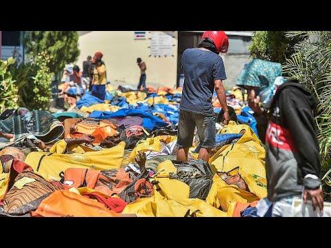 Ινδονησία: Ξεπέρασαν τους 800 οι νεκροί από τον σεισμό και το τσουνάμι…