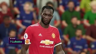 FIFA 18 - Chelsea vs Manchester United Full Match | PS4 Pro (1080p 60fps)