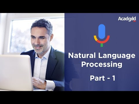 Natural Language Processing Tutorial Part 1 | NLP Training Videos | Text Analysis