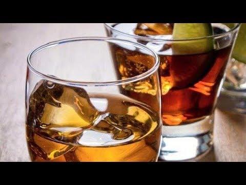 Appezzamento da alcolismo grave