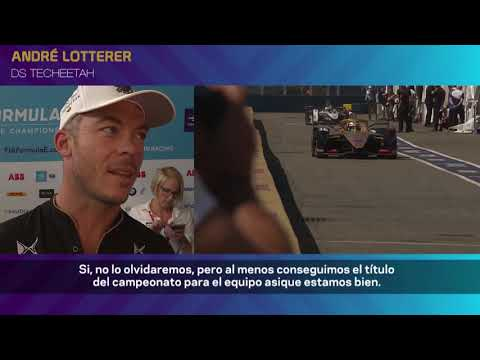 Vergne y Techeetah campeones de la Fórmula E