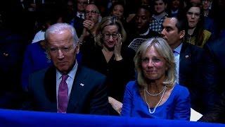 President Obama thanks Joe and Jill Biden in farewell speech