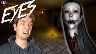 Eyes | BEST BURGLAR EVER! | Indie Horror Game | Commentary/Face Cam