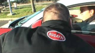 Bugatti Veyron test drive