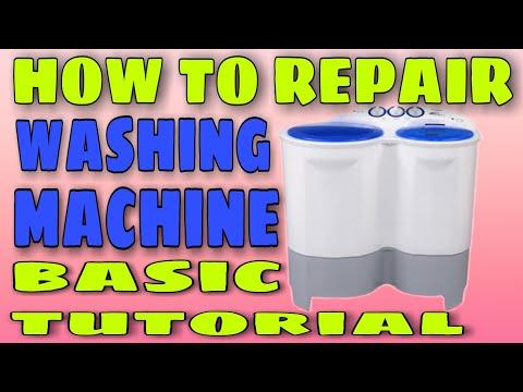 How to repair twin tub washing machine (tutorial)