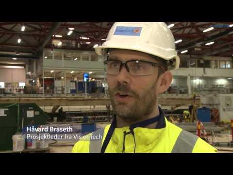 Videoreportasje fra bunnoppgraderingen av havlaboratoriet i januar og februar 2016.
