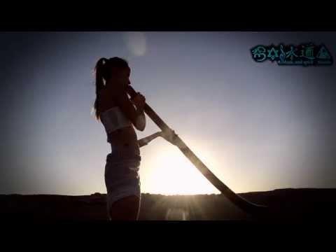 """The most beautiful Didgeridoo player in the world ! """"Ticki Stamasuri"""""""