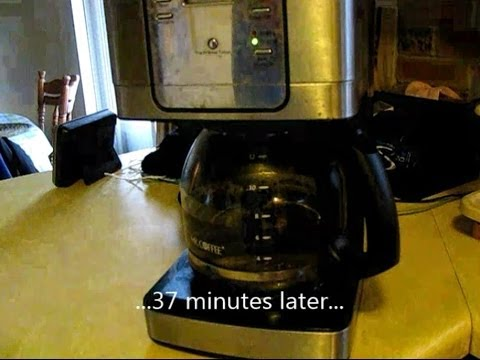 How to unclog a Mr. Coffee JWX31 coffee maker