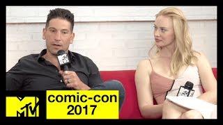 Jon Bernthal & Deborah Ann Woll On The Punisher | Comic-Con 2017 | MTV