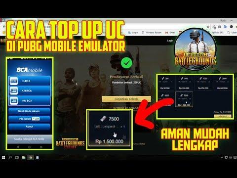 Cara Mudah Top Up UC via mBANKING di EMULATOR PUBG MOBILE - Lengkap, Aman, 100% Berhasil
