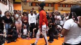 Laurent Battles a Little Boy Cypher part 4   Stop Drop Dance Camden, NJ 8-26-17