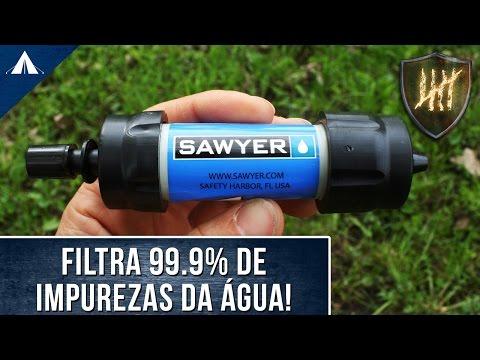 Review: Filtro de água Sawyer Mini