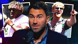 Eddie Hearn On First Meeting With KSI & Logan Paul + Fight Prediction