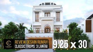 Video Desain Rumah Classic 3 Lantai Ibu Tami di  Jakarta Timur