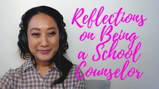 Reflections On Being A School Counselor (elementary, Outreach Internship & College)