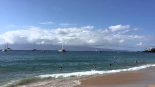 preview picture of video 'Maui Kaanapali Beach'