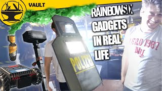 Rainbow Six Siege Weapons in Real Life! (Hacksmith Vault #4)