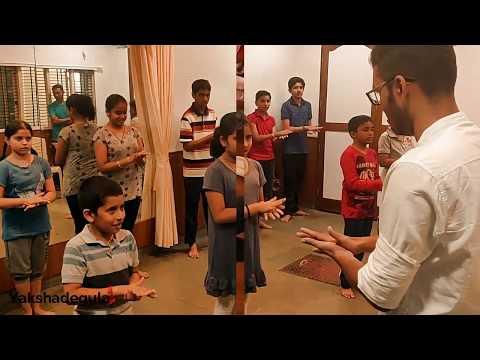 Badagutittu Yakshagana Chaalu Workshop by Shashank Kashi