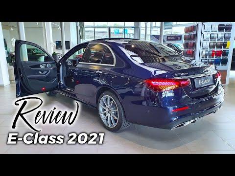 New Mercedes E-Class AMG Line Sedan 2021 Review Interior Exterior