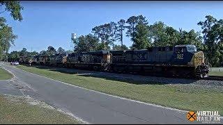 Folkston, Georgia USA | Cam of the Week - Virtual Railfan LIVE