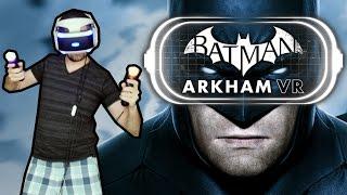 BATMAN ARKHAM VR - Gameplay do Início, em Português! Exclusivo de PlayStation VR!