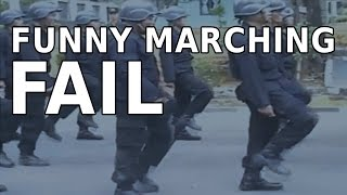 Funny Marching Fail Training