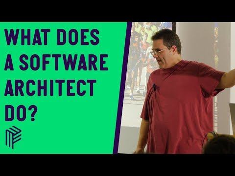 So what does a software architect do  - .NET Oxford - December 2019