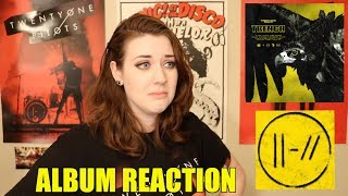 REACTING TO TRENCH BY TWENTY ONE PILOTS