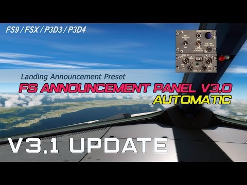 Files - ✈ FS Announcement Panel: AUTOMATIC - v3 2 Update