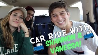 CAR RIDE WITH SHANNON BEVERIDGE & VANESSA WEBSTER