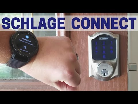 Schlage Connect Review – Lock Your Door with Alexa