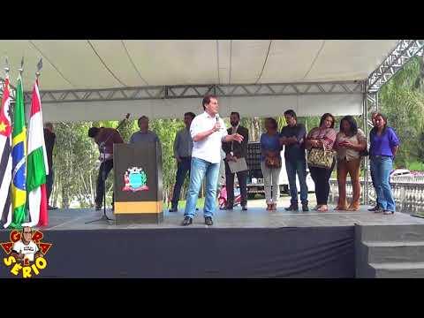 Deputado Federal Paulinho da Força na entrega do Trator Agrícola para São Lourenço da Serra
