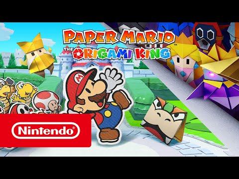 Trailer d'annonce de Paper Mario: The Origami King