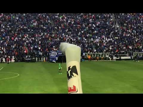 """Yo soy celeste"" Barra: La Sangre Azul • Club: Cruz Azul"