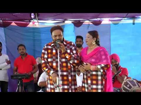 sabar khan/lovejot rani live hajibetu 4-8-18 || Rooh Punjab Di
