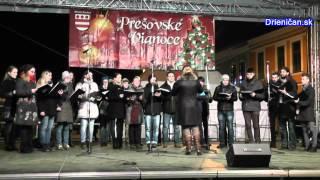 preview picture of video 'Prešovské Vianoce 2014,-Nostro Canto Prešov'