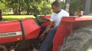 How to Operate and Drive a Tractor!