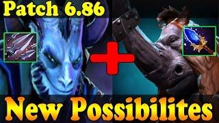 Dota 2 - Patch 6.86 Riki Ultimate New Possibilities !