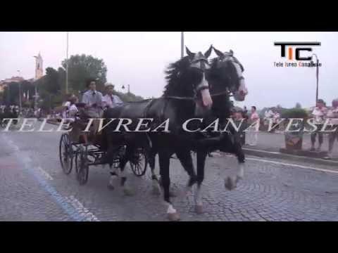Preview video Ivrea San Savino 2016 Sfilata delle Carrozze